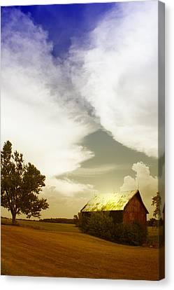 Artsy Fartsy Barn Canvas Print