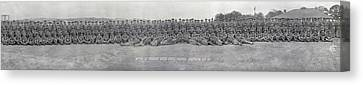 96th Co, 6th Regiment, Usmc Quantico Canvas Print by Fred Schutz Collection
