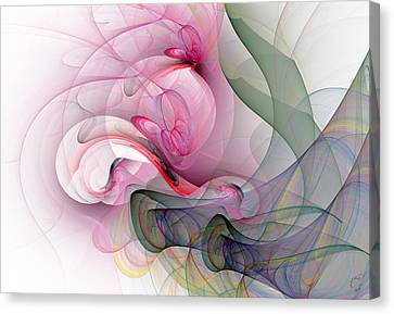 Generative Art Canvas Print - 970 by Lar Matre