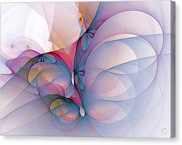 Generative Canvas Print - 971 by Lar Matre