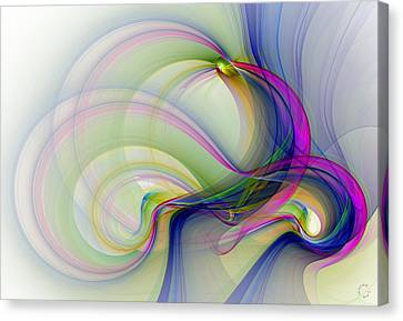 Generative Art Canvas Print - 983 by Lar Matre