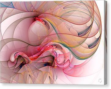 Generative Canvas Print - 988 by Lar Matre