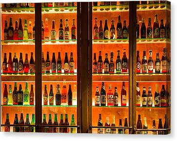 99 Bottles Of Beer On The Wall Canvas Print by Semmick Photo