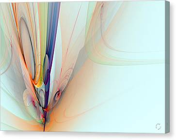 Generative Art Canvas Print - 997 by Lar Matre