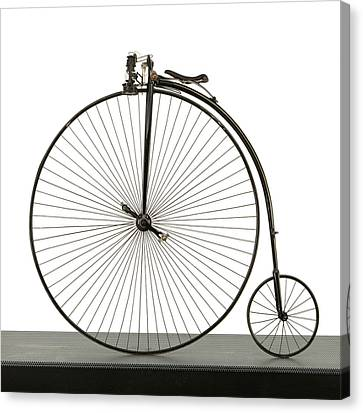 A 52 Inch Ordinary Bicycle, Cerca 1880 Canvas Print