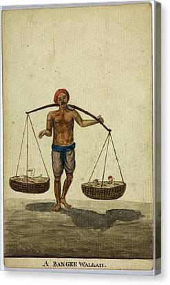 A Bangee Wallah Canvas Print