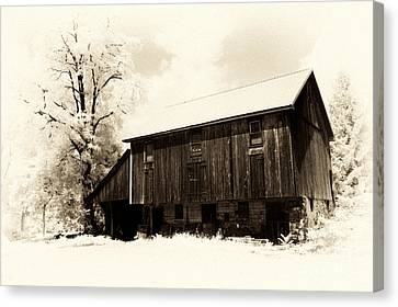 A Barn Of Old Canvas Print