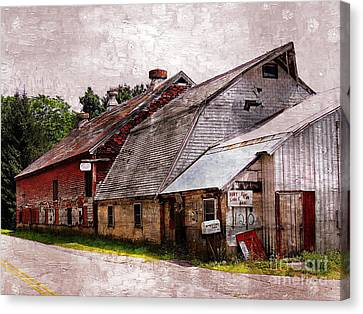 A Barn With Many Purposes Canvas Print by Marcia Lee Jones