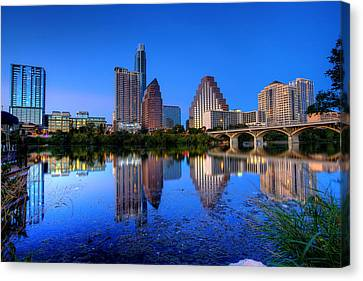 A Beautiful Austin Evening Canvas Print