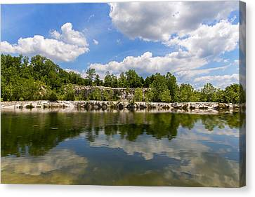 A Beautiful Day At Klondike Lake Canvas Print by Bill Tiepelman
