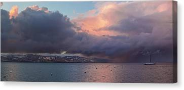 A Beautiful Storm Canvas Print by Brad Scott