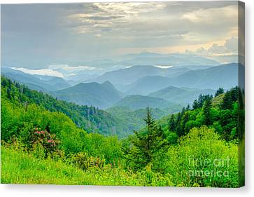 A Beautiful View Canvas Print by Bob and Nancy Kendrick