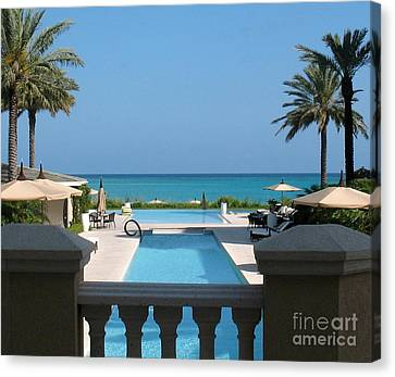 A Beautiful View Canvas Print by Patti Whitten