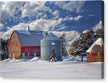 A Beautiful Winter Day Canvas Print by Nikolyn McDonald