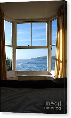 Sennen Cove Canvas Print - A Bed With A View by Terri Waters
