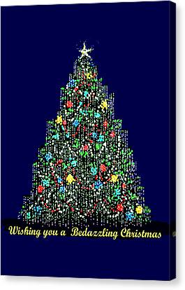 A Bedazzling Christmas Canvas Print