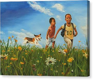 A Better Place Canvas Print