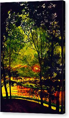A Better Place To Be Canvas Print by Frank SantAgata