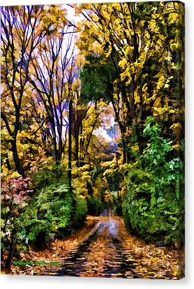 A Bit Of Autumn Canvas Print