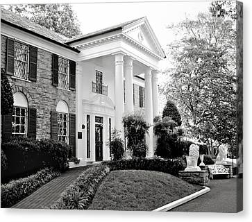 A Bit Of Graceland Canvas Print by Julie Palencia