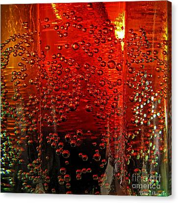 A Bit Of The Bubbly    Pepsi Canvas Print by Debbie Portwood