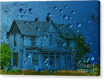Canvas Print featuring the photograph A Bit Of Whimsy For The Soul... by Liane Wright