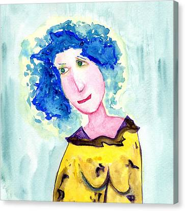 A Blue Day Canvas Print