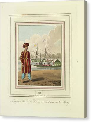 Sir Charles Canvas Print - A Boatman by British Library