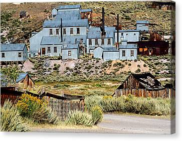 A Bodie View From Above Canvas Print by Joseph Coulombe