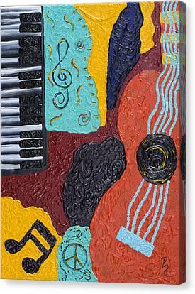 A Bold Session Canvas Print by Robin Hillman