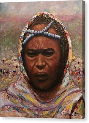 A Borana Lady. Canvas Print