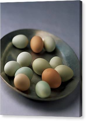 2001 Canvas Print - A Bowl Of Eggs by Romulo Yanes