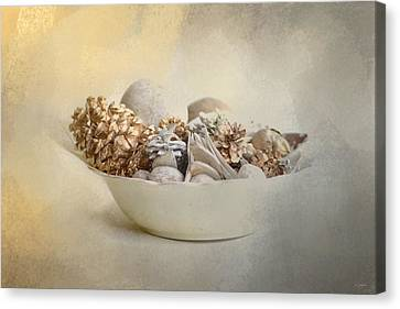 A Bowl Of Holiday Bounty Canvas Print