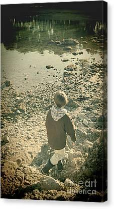 A Boy Canvas Print by Jasna Buncic