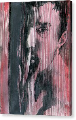 A Boy Named Silence Canvas Print by Rene Capone