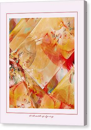 A Breath Of Spring Canvas Print by Gayle Odsather