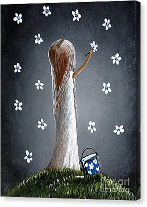 Whimsical Paintings Canvas Print by Shawna Erback