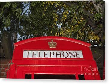 A British Phone Box Canvas Print