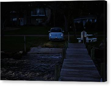 A Bug By The River Canvas Print by Victoria Clark
