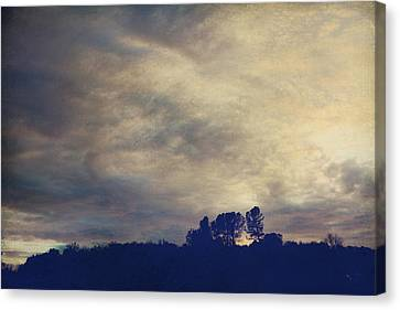 A Calm Sets In Canvas Print by Laurie Search