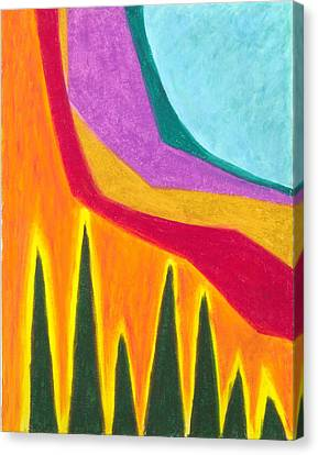 A Calming Influence Canvas Print