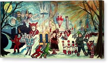 A Carnival Life Canvas Print by Richard  Hubal