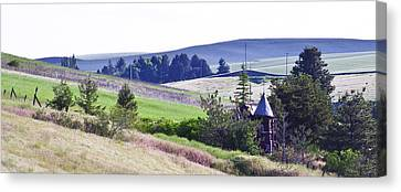 A Castle In The Palouse Canvas Print by David Patterson