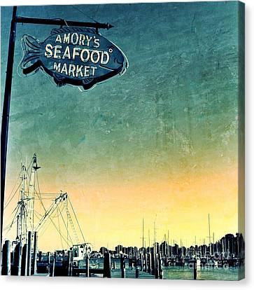 A Catch Since 1917 Canvas Print by Scott Allison