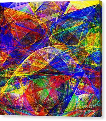 A Cats Dream 20130512 Square Canvas Print