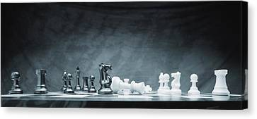 A Chess Game Canvas Print by Don Hammond