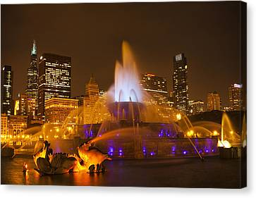 A Chicago Twilight Canvas Print