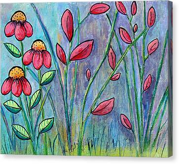 A Child's Garden Canvas Print by Suzanne Theis