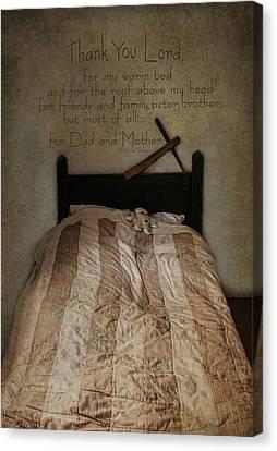 A Child's Prayer Canvas Print