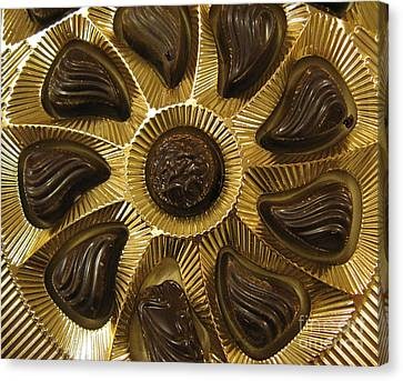 A Chocolate Sun Canvas Print